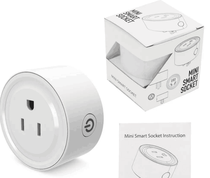 USA Standard White Wifi Smart Plug Power Socket With App Wireless Remote Control Wall Plug For IOS Android