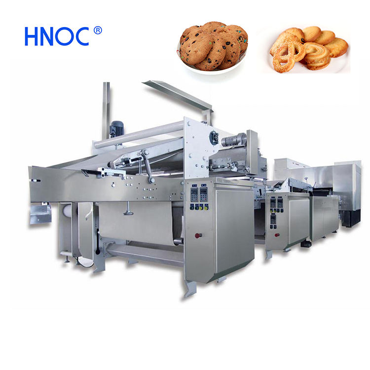 Hard biscuit production line cookie biscuit making machine with factory price