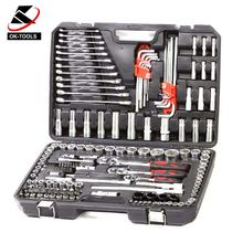 Hot selling 155pcs metric socket set tool kit for cars