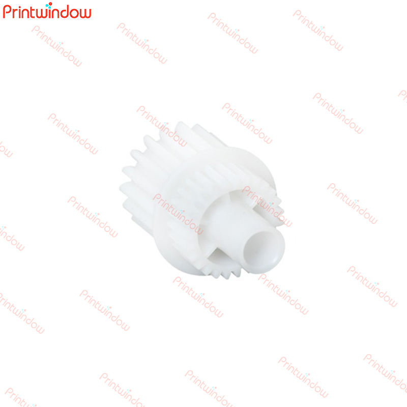 Printwindow FU8-0534-000 Genuine White Lower fuser roller gear/Drive gear 18T/27T For Canon imageRUNNER 2535i 2545i