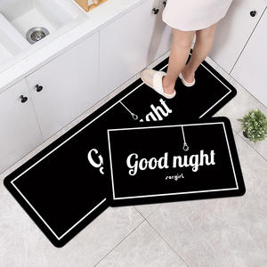 modern anti-fatigue mat water absorbent kitchen floor mat