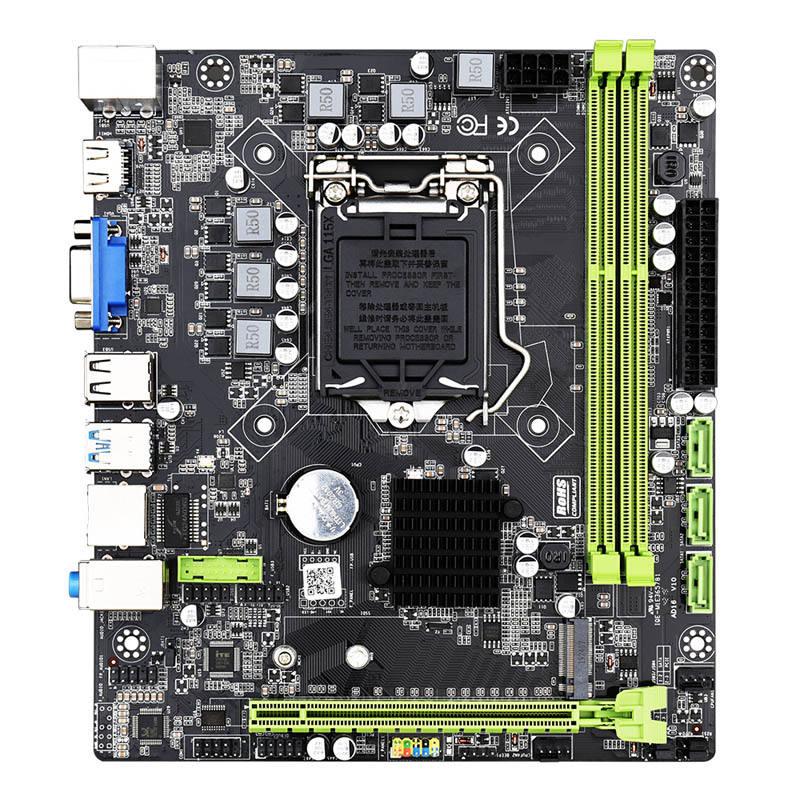 SZMZ ほとんど割引インテル H310 チップセット LGA 1151 ソケットのマザーボードと 3.0 PCIE x16