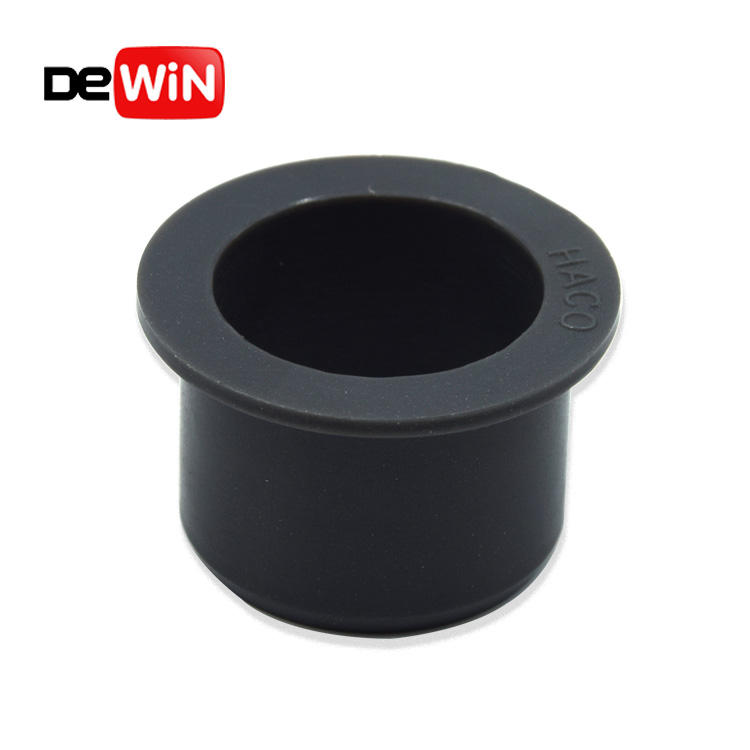 Customized high quality durable wearing plastic Flanged Nylon Bushing