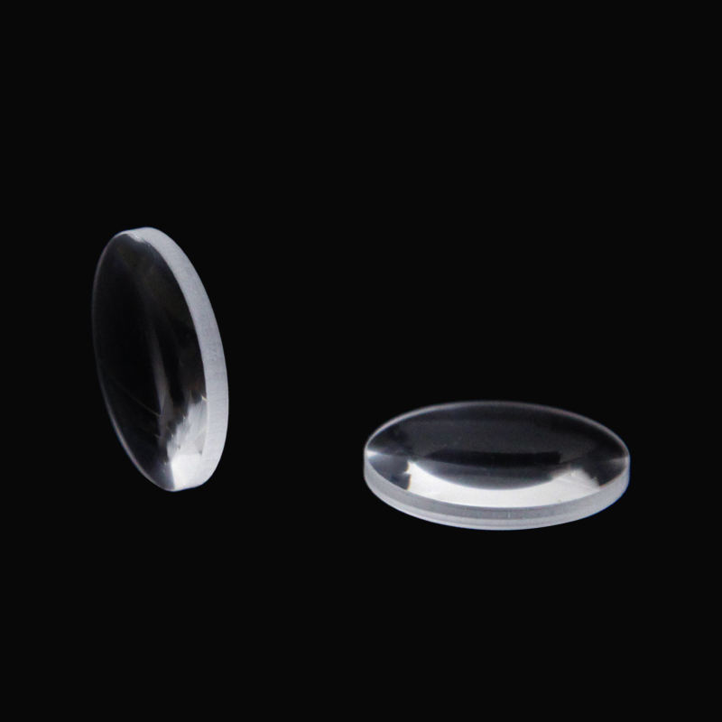 China manufacturer k9 quartz optical grade glass biconvex lens