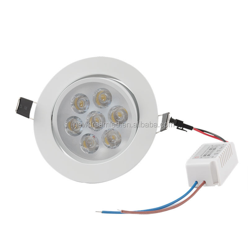 Dimbare Downlight licht 9W 12W 15W 21W 220V 110V Verzonken Led plafond lamp Warm /wit/Koud Wit Ronde Led Spot Light