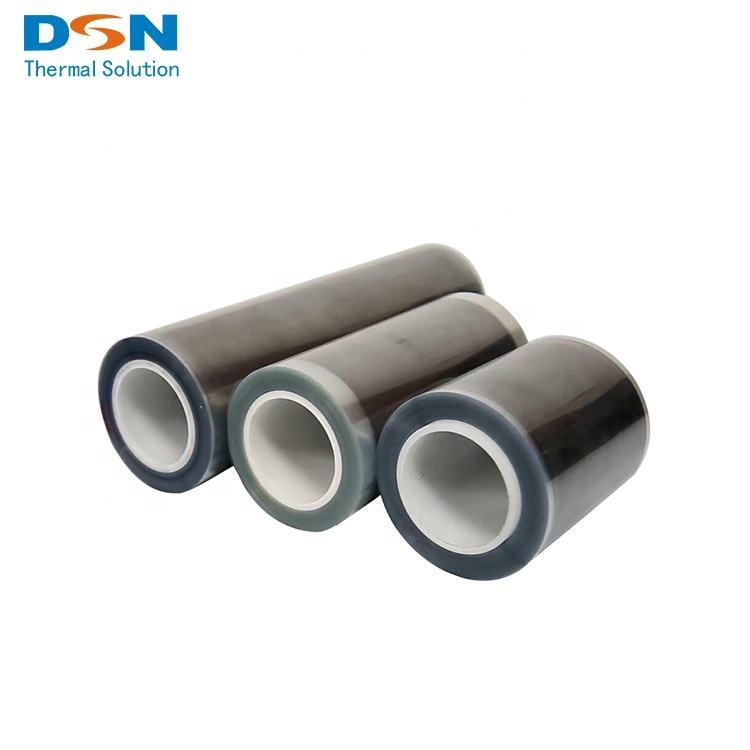 Factory Price Flexible Graphite Paper/Foil/Sheet in Roll for Battery