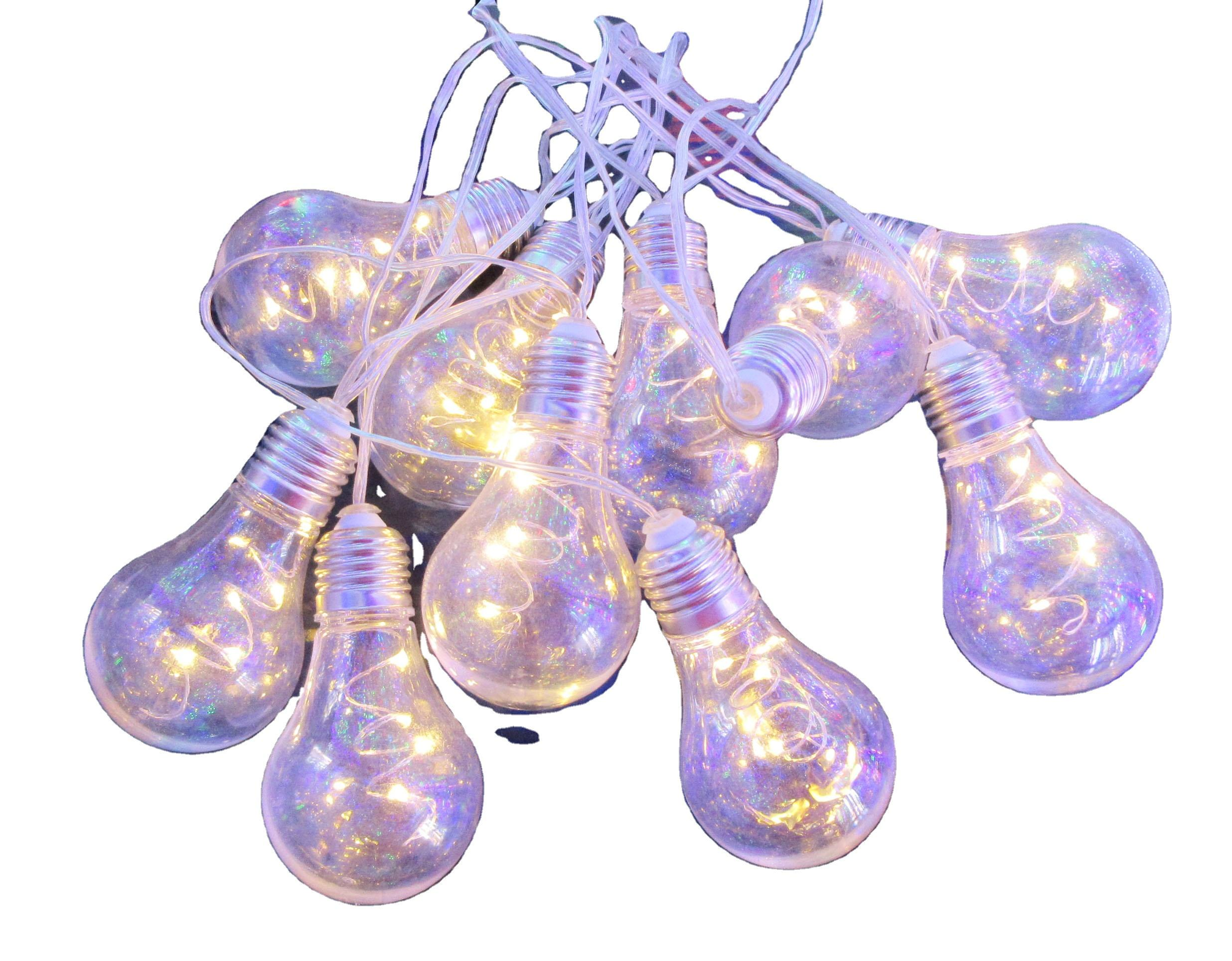 New design mini LED bulbs in Christmas ball string lights products for parties and weddings