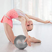 9 Inch Mini Exercise Ball Small Bender Ball for Stability Barre Pilates Yoga