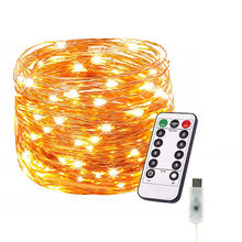 String Decorative Light Led Mini Usb Copper Wire String Fairy Lights For Christmas Tree