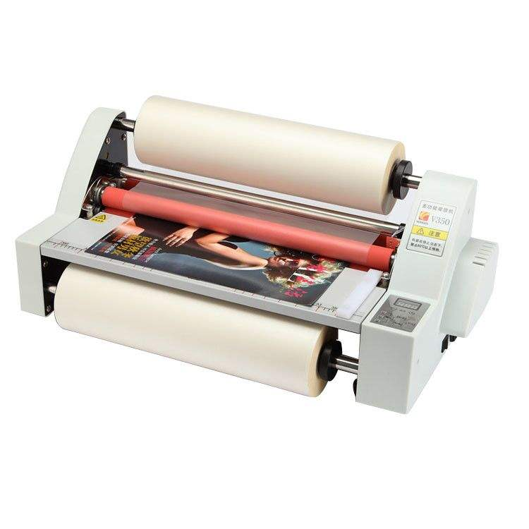 Sonto Desktop Dua Sisi Mesin Laminating V350 Harga Murah Hot Mesin Laminating Roll