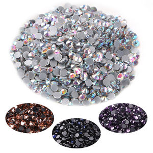 Factory Direct Sales SS10 SS16 SS20 SS30 3d Nail Crystal Flat Back Glass Stone Dmc Rhinestone