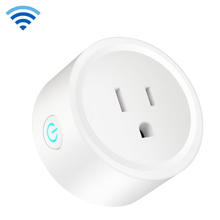 High Quality Mini Wireless Power Wall Wifi Plug Smart Outlet Socket