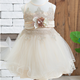 2020 new model princess sweetly 1-6 years cute baby girl party sleeveless dresses summer with flower belt
