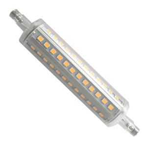 할로겐 교체 R7S 램프 78MM 118MM 1000LM 1200LM Dimmable Led R7S