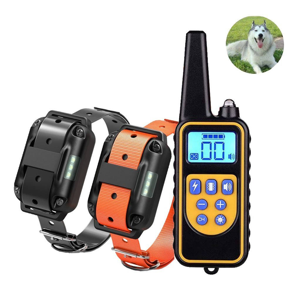 Amazon online best seller 300M beep remote shock training dog collar pet
