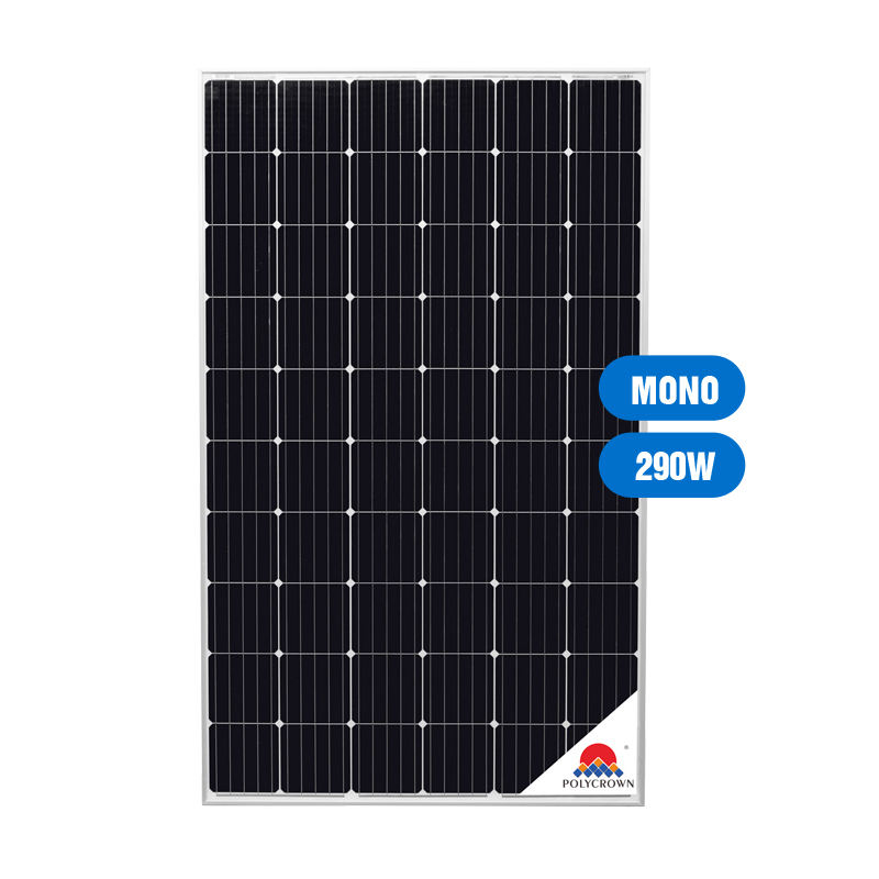 China Manufacturer 290W Polycrystalline Solar Panel With A Good Quality