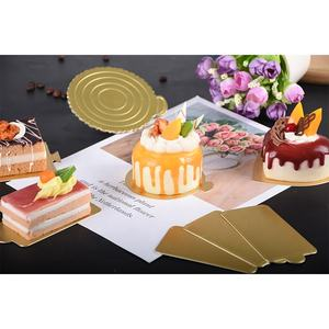 Paper cake board rectangle cardboard bases circles for cakes