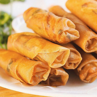 Chinese frozen spring roll pastry