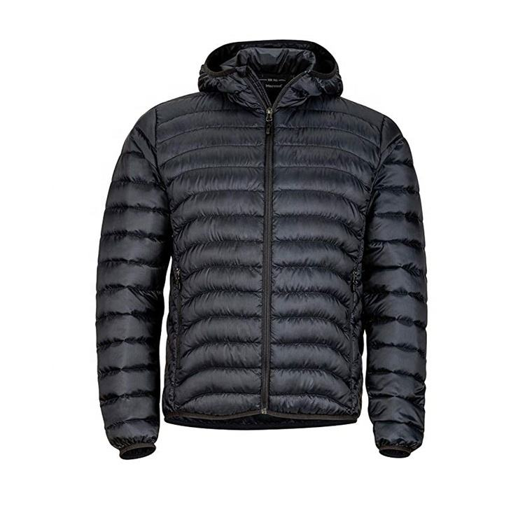 Fuzhou Fashion Flying Black Cotton Polyester Chinese Padded Winter Jacket For Men