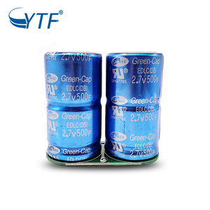 5.4Volt Super Capacitor 250 Farad Can Carry Out Circuit Operations With Large Loads