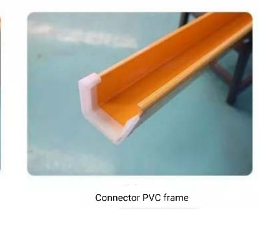 Connector PVC frame layer