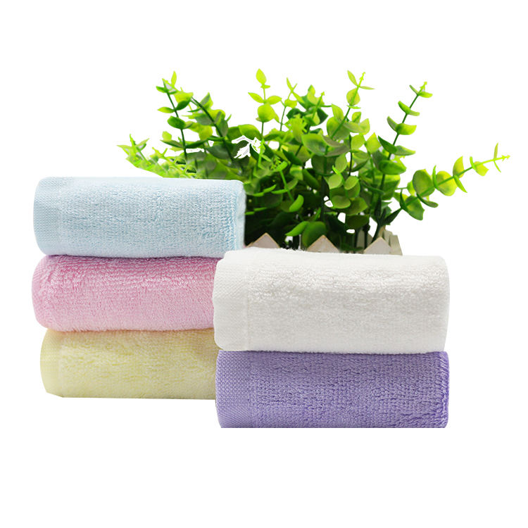 wholesale 2019 China Manufacturer Organic 100% Bamboo Baby Washcloth