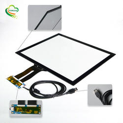 YUNLEA egalax multi touch waterproof 17 inch capacitive touch screen panel overlay kit for medical device