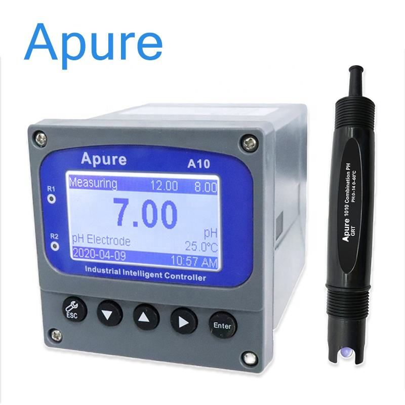 Automatic hydroponic aquarium digital ph controller monitor orp ph meter for waste water treatment