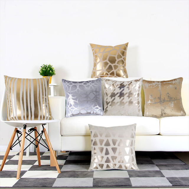 New Style decorative throw sofa pillow home decor sequin custom throw pillow cushion