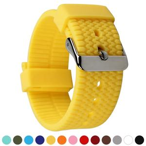RTS Wholesale Adjustable Silicone Watch Bands for Wristwatches