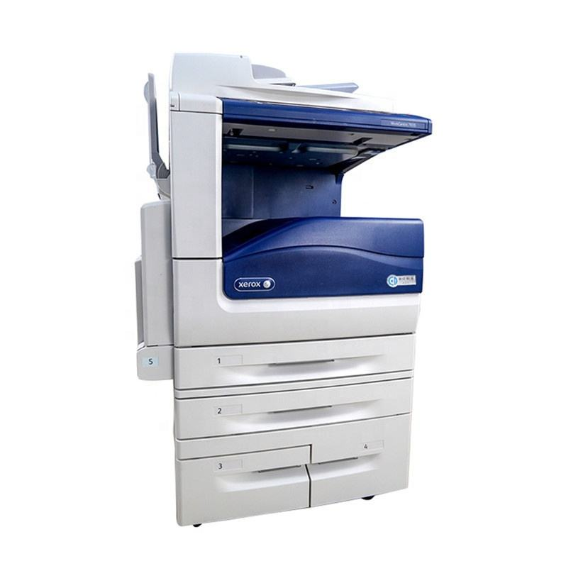 Used CMYK A4 A3 Laser Multifunctional Office Printer Laserjet Photocopiers Fit for Xerox Workcentre 7835 7845 7855