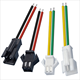 Custom Wire Harness JST SM2.5 2Pin 3Pin 4Pin 7Pin Male Female Connector Cable For Single Color Led Lamp Strip