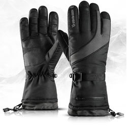 19 kinds of ski gloves winter outdoor cycling four layer wat