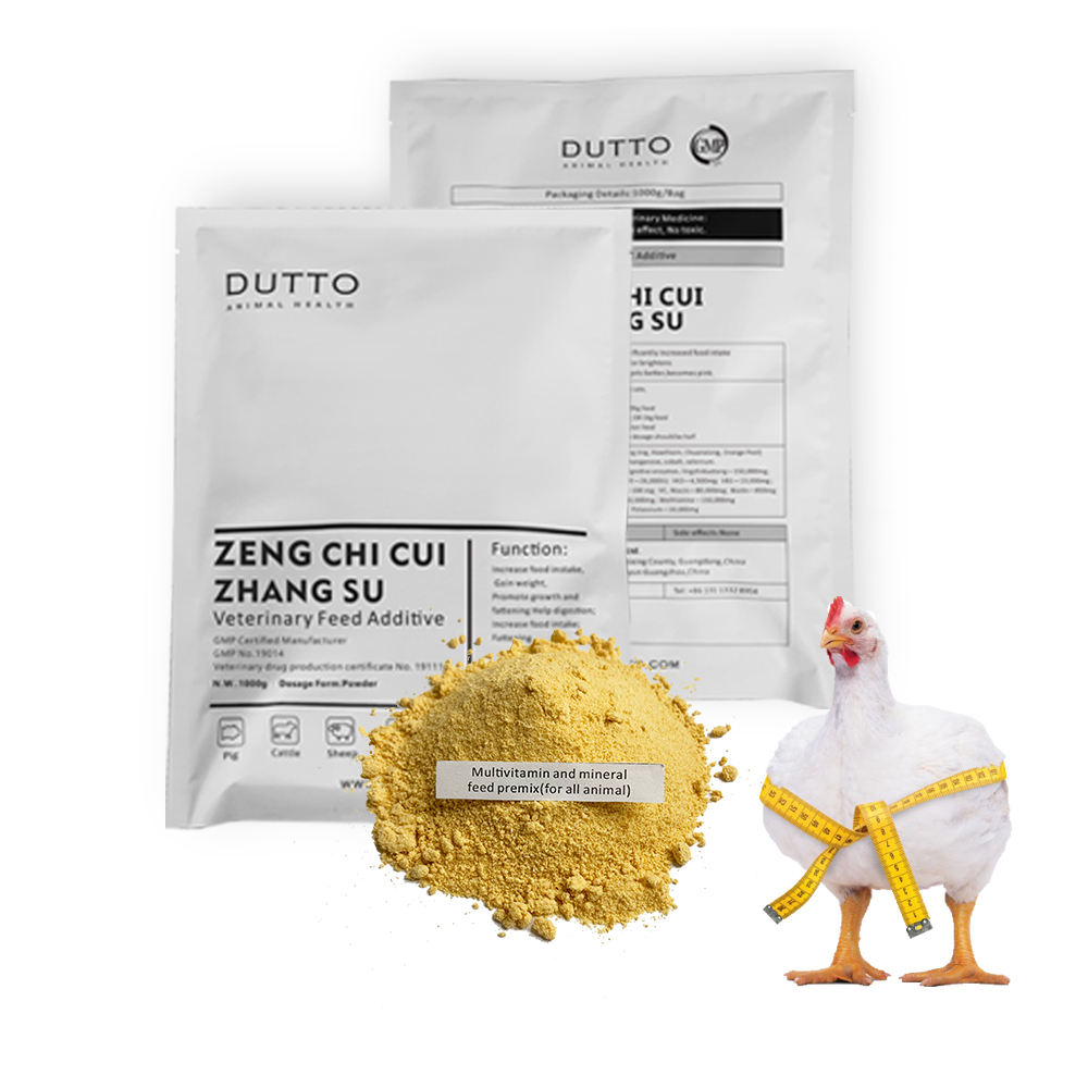 DUTTO broiler feed additive FOR poultry weight gain promoter