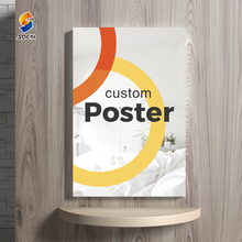 Custom print indoor/outdoor advertising paper cheap poster manufacturer