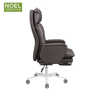 Luxury reclining ergonomic office executive leather chairs