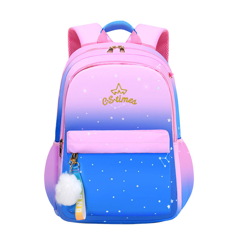Hot sale wholesale fashion cheap 3 pcs set canvas teenage young girls child pop kids backpack school bags
