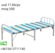 China Supply High Quality Single Metal Frame Folding Bed