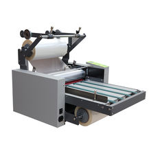 SIGO SG-L388 Hot and Cold A3+ Roll auto feeding paper with belt laminating machine