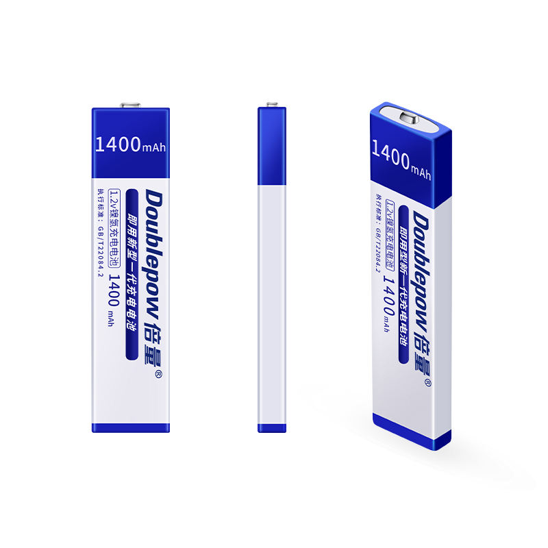 High Capacity 1400mAh 1.2v 7/5 F6 NiMH Gumstick Type Portable CD MD MP3 MP4 Battery
