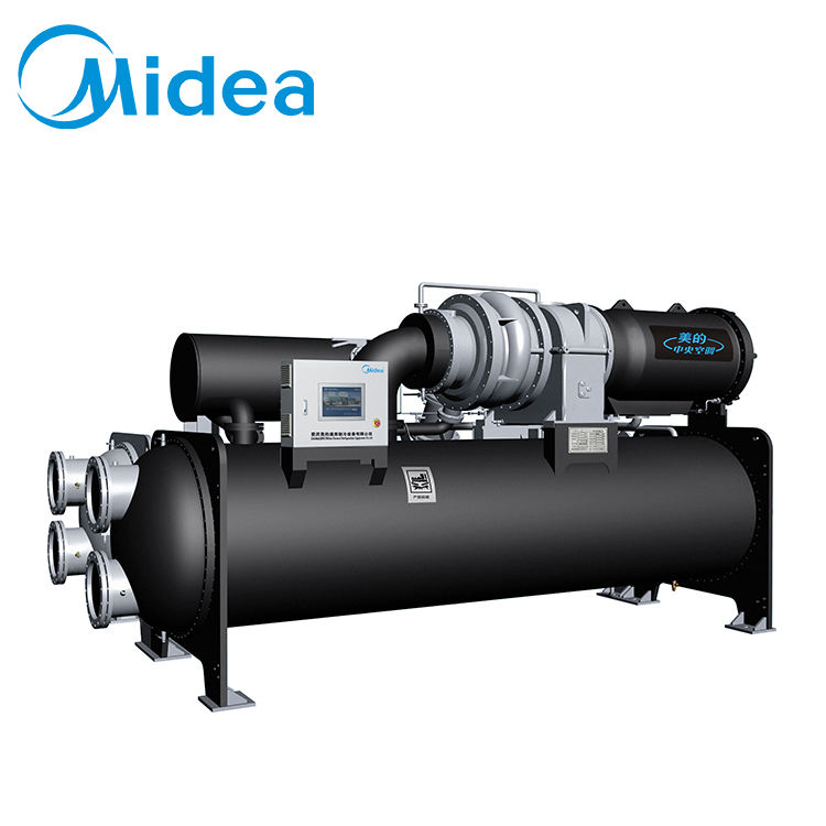 Midea Hoge Efficiëntie Watergekoelde Centrifugaal 500-3000RT Water Chiller Unit China Koeling Chillers Fabrikant