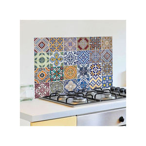 china custom waterproof adhesive die cut vinyl kitchen wall oil proof sticker