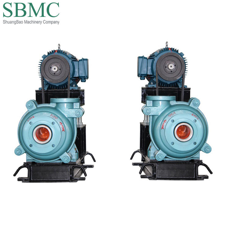 Heavy duty slurry pump for gold and mining