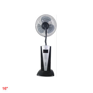 Draagbare hotel water spray mist cooling fans fabriek