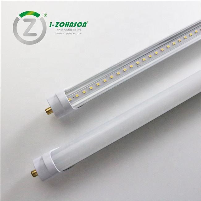 AC100v-277v 8ft tubo led FA8 Pin único lastre Compatible 2,4 m 8ft t8 tubo led