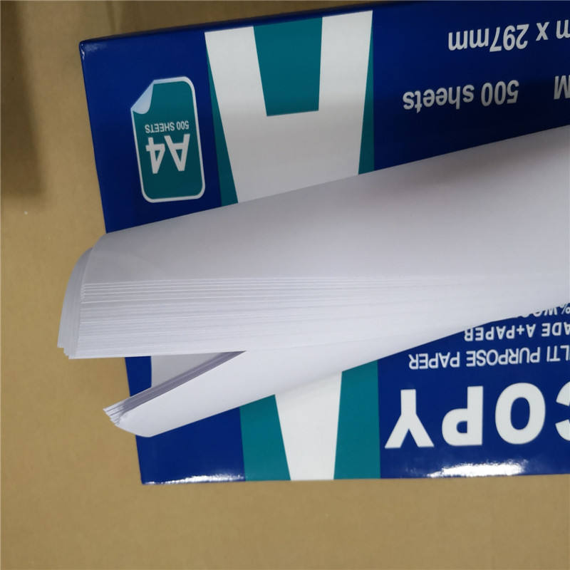 Wood Pulp a4 size white copier paper 70g 75g 80g