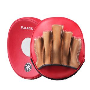 Factory Hot Sales Leather Training Boxing Focus Mitts High Quality Target Pads