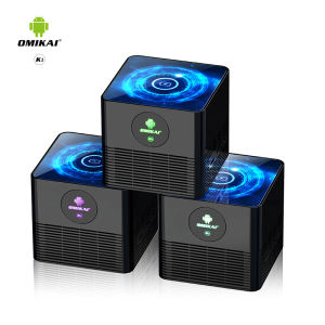 2020 Hot Selling Cheap Android tv box Quad Core Allwinner Android 10.0 Wireless charging set top box