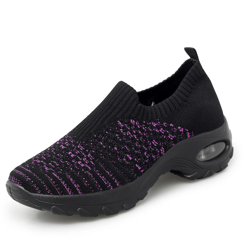 New Flying Shuttle Knitted Low-cost Leisure casual Light Sports Shoes for Women