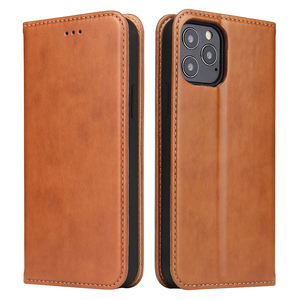 New 2020 PU Leather Wallet Case with Card Slot for iPhone 12 pro max Flip Cover